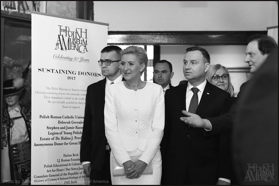 PRESIDENT AND FIRST LADY OF THE REPUBLIC OF POLAND