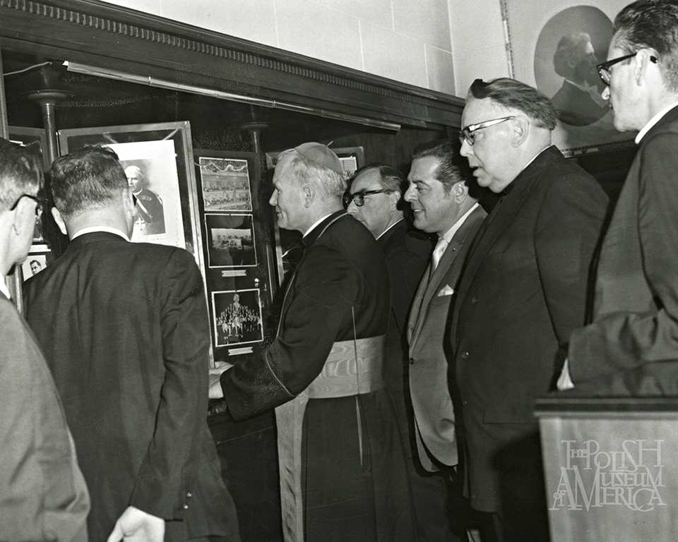 Cardinal Wojtyla at the PMA Paderewski Room 1969