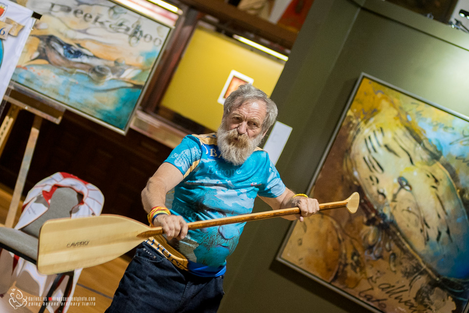 Why He Kayaked Across The Atlantic At 70 For The Third Time?