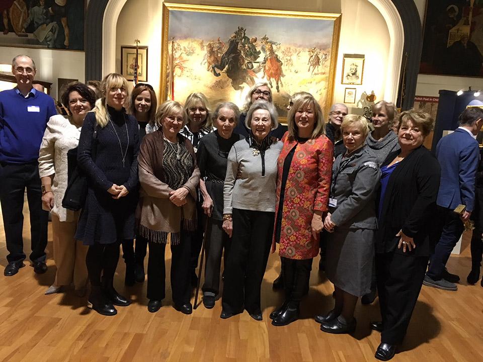 International Women Associates Polish Lecture event