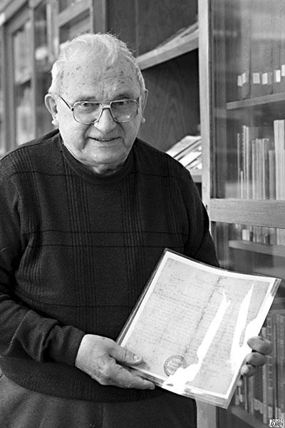 Chet Schafer 1922-2018 (photo Julita Siegel)
