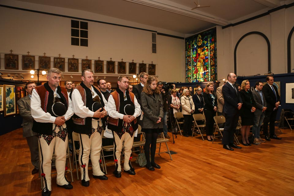 Polish Community in Chicago in celebrating the 40th Anniversary of John Paul II Pontificate