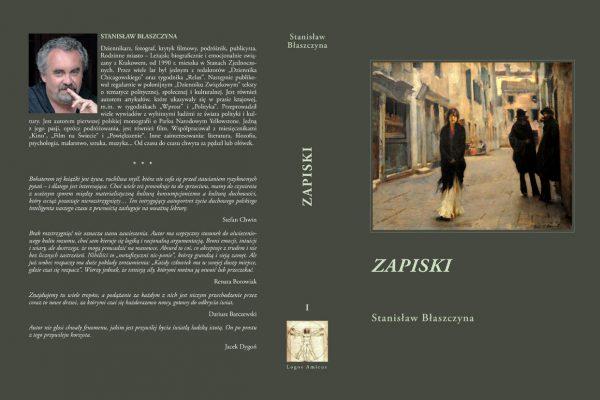1. ZAPISKI. tom I obw. (autor – Stansilaw Blaszczyna