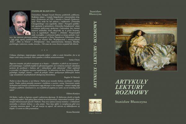 2. ARTYKULY LEKTURY ROZMOWY, tom II obw. (autor – Stanislaw Blaszczyna