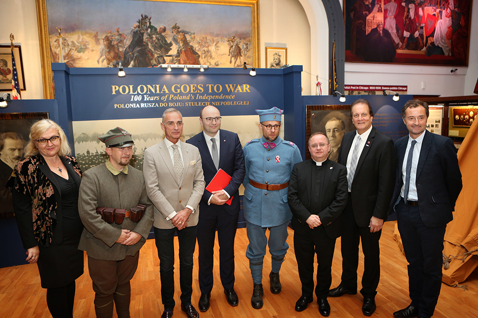 Polonia Goes to War - Exhibit Opening Photo Gallery
