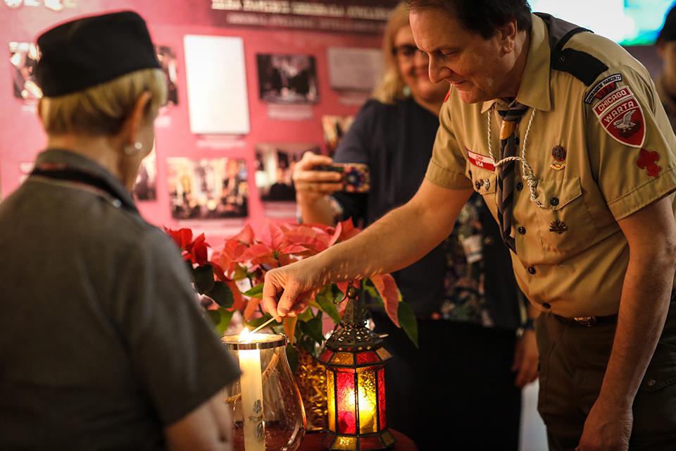 Christmas Ornaments Workshop & Bethlehem Peace Light Ceremony