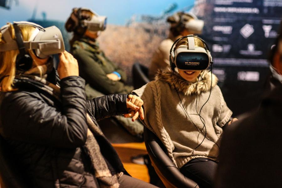 MS Piłsudski – Virtual Reality Presentation
