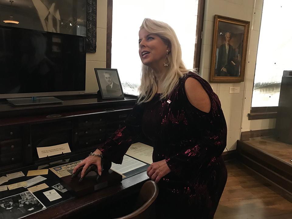 Rita Cosby at The PMA