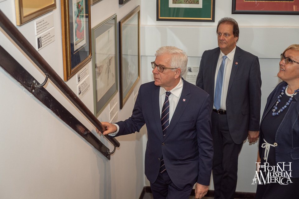 Visit to PMA of the Polish Minister of Foreign Affairs
