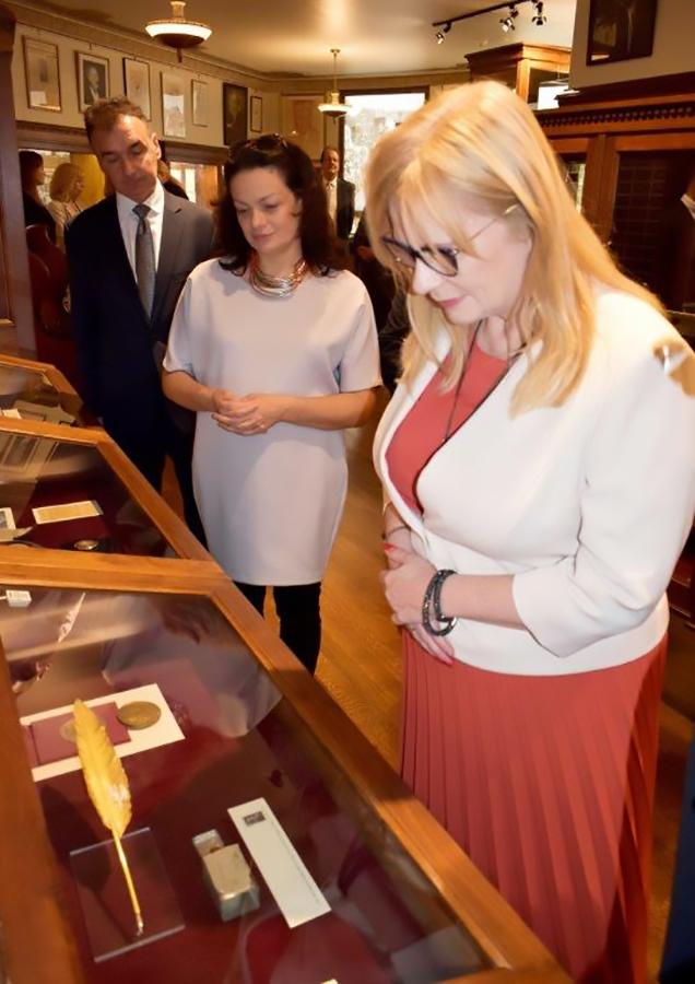 Malgorzata Gosiewska, Deputy Marshall of the Sejm for the Republic of Poland visited the PMA