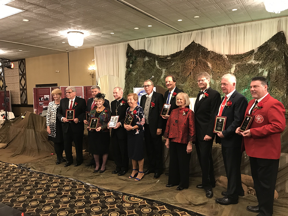 Civic award from the Polish American Congress