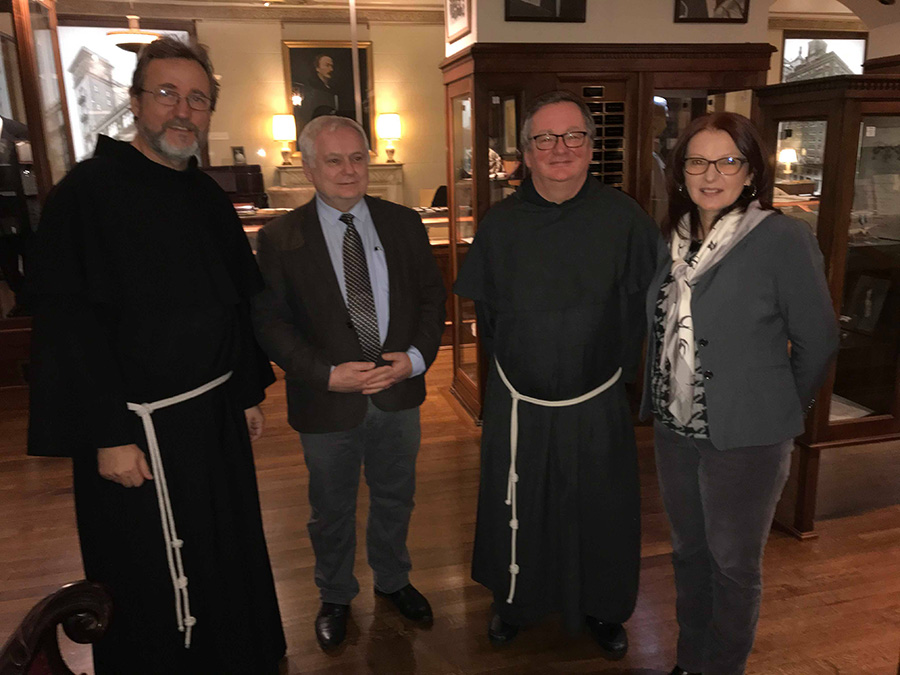 Director of the Jagiellonian Library visited PMA