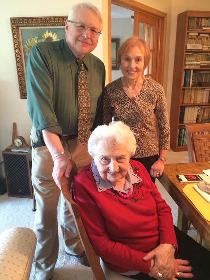 104th Birthday of Mrs. Maria Mirecka Lorys, PMA Life Member