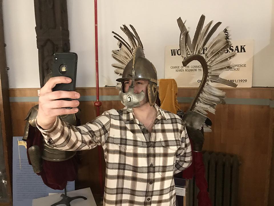 Kamil Bednarek z wizytą w Muzeum Polskim w Ameryce!
