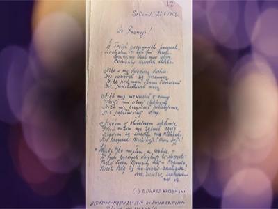 Wiersz Edwarda Kuczynskiego